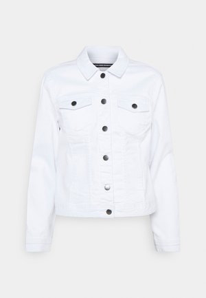 ONLWONDER LIFE JACKET - Džínová bunda - white