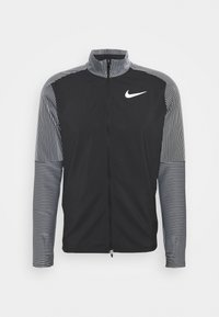 Nike Performance - Běžecká bunda - black/reflective silver - 4
