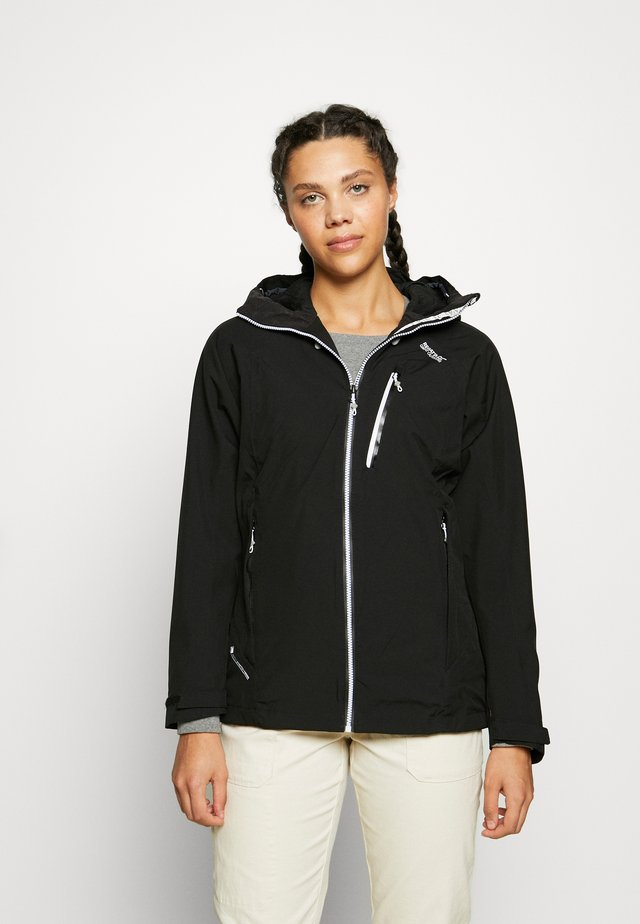 WOMENS BIRCHDALE - Hardshell jacket - black