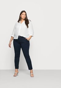 Selected Femme Curve - SLFILEY - Chinot - navy blazer - 1
