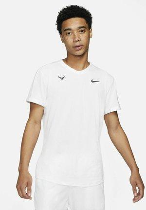 Print T-shirt - white/white/white/black