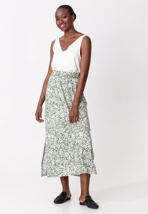 DALI - A-line skirt - green