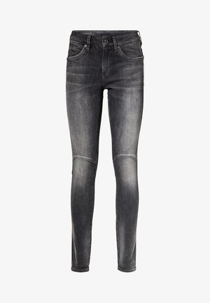 G-JACKPANT 3D MID SKINNY - Jeans Skinny Fit - black