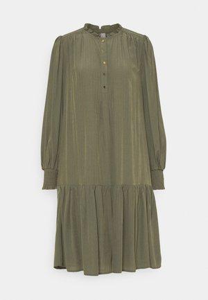 BIANCA DRESS - Day dress - burnt olive