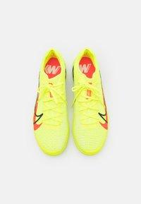 Nike Performance - MERCURIAL ZOOM VAPOR 14 PRO IC - Indoor football boots - volt/bright crimson/black - 3