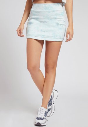 Mini skirt - mehrfarbig, grundton blau