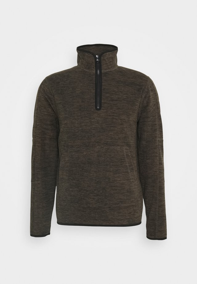HALF ZIP - Fleece trui - tigers eye global