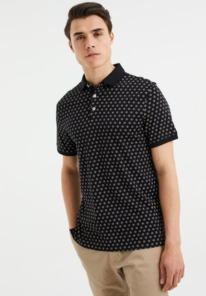 SLIM FIT  - Poloshirt - black