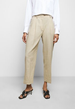 LEANNE - Trousers - wheat melange