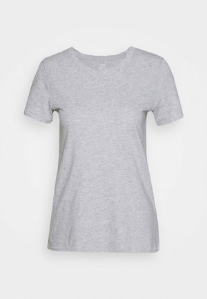 WEB ONLY CLASSIC FIT TEE - Basic T-shirt - grey