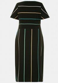 Ulla Popken - Shift dress - schwarz - 2