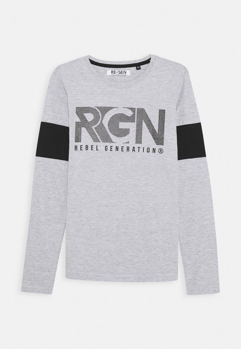 Re-Gen - Pitkähihainen paita - grey melange