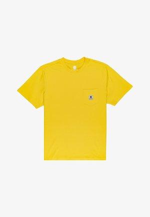 POCKET LABEL S - T-shirt basic - dandelion