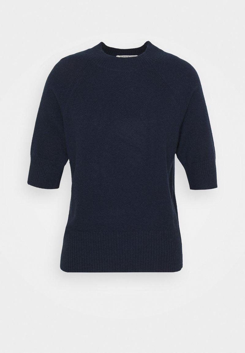 Marks & Spencer London - TEXTURED TEE - Jednoduché triko - dark blue