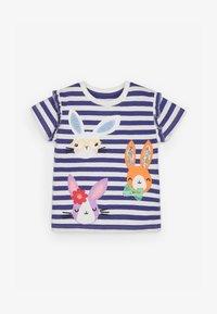 Next - BUNNY  - Print T-shirt - blue - 0