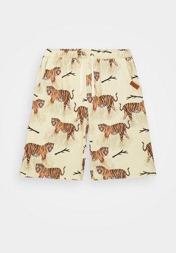 TIGER UNISEX - Shorts - yellow