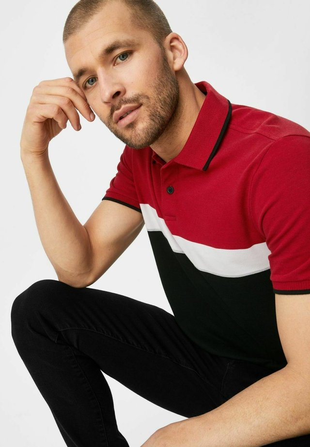 Poloshirt - dunkelrot
