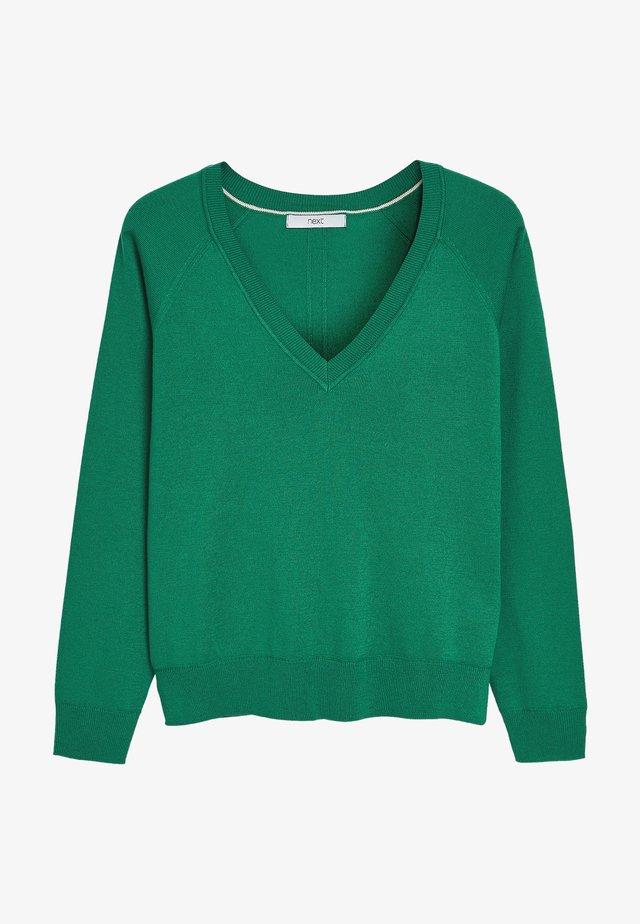 Sweter - green