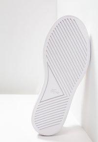 Lacoste - ESPARRE - Sneakersy niskie - black - 4