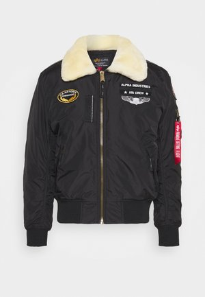 INJECTOR  AIR FORCE - Giubbotto Bomber - black
