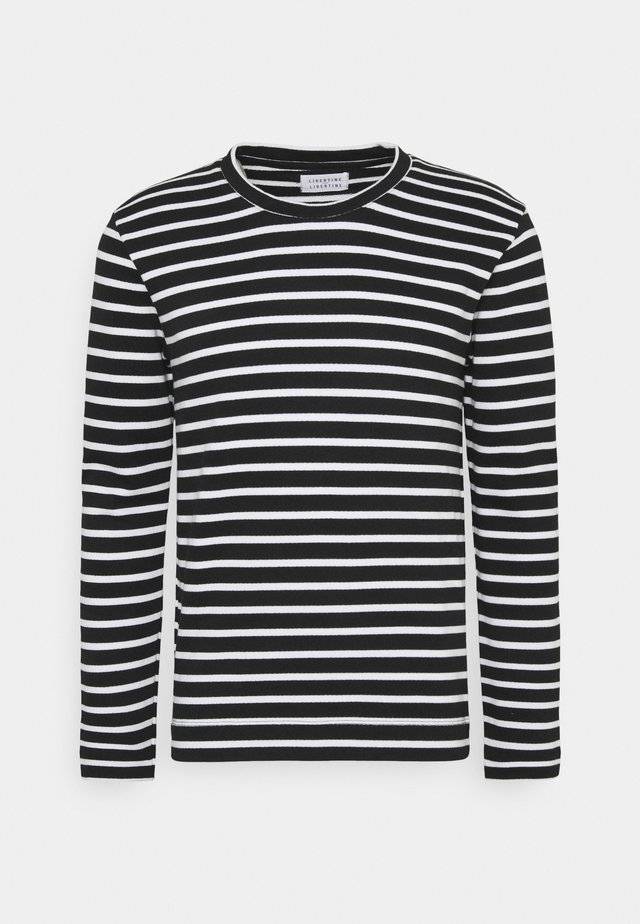 FORWARD - Sweater - black/white