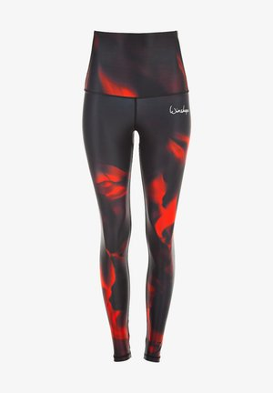 HWL102 FIRE HIGH WAIST -TIGHTS - Leggings - fire
