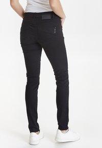 PULZ - CARMEN - Jeans Skinny Fit - black - 2
