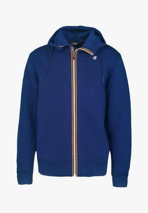 Zip-up hoodie - blue depths