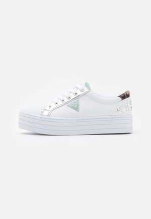 BRODEY - Zapatillas - white/silver