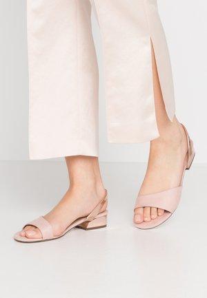 FURCATA - Sandals - light pink