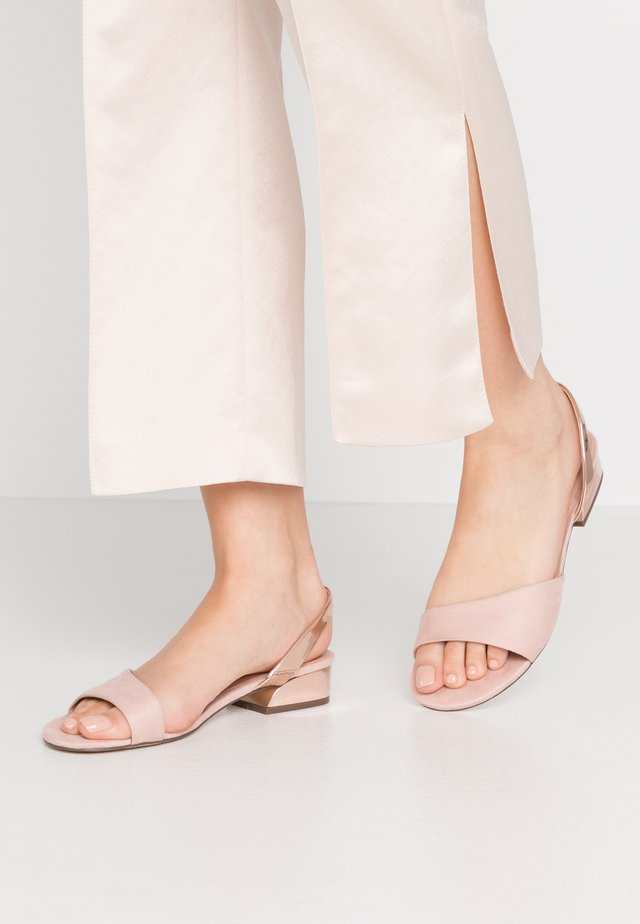 FURCATA - Sandals - light pink