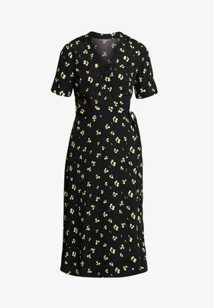 Robe longue - green/black