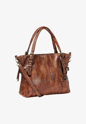 Handbag - antique nut (h1393-22)
