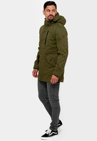 INDICODE JEANS - Parka - army - 1