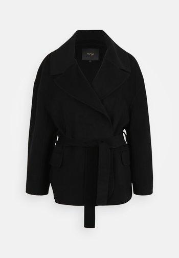 GLASSON - Classic coat - noir
