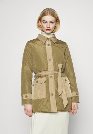 ONLKARLA QUILTED JACKET - Short coat - martini olive/elmwood