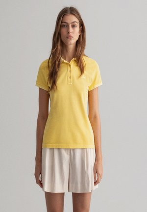 Polo shirt - brimestone yellow
