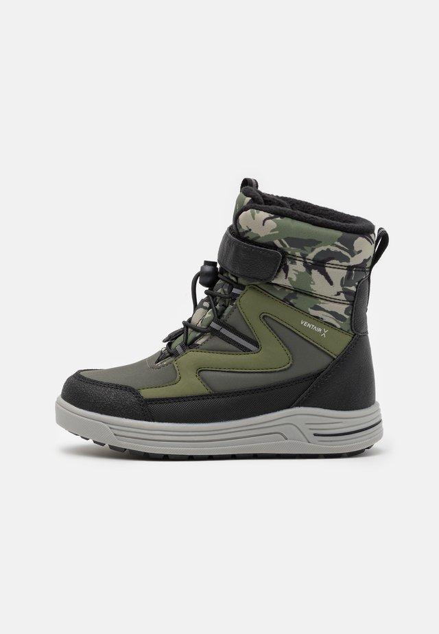 UNISEX - Winter boots - dark green