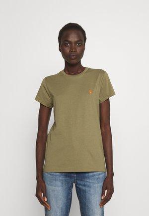 TEE SHORT SLEEVE - T-shirt basique - basic olive