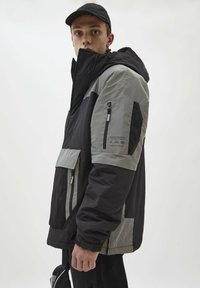 PULL&BEAR - Vinterjacka - light grey - 3