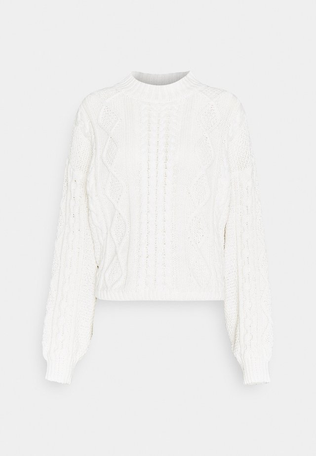 MIRIAM SWEATER - Sweter - warm white