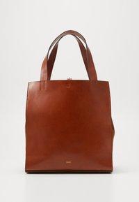 CLOSED - HOPE LONG TOTE SET - Tote bag - antique wood - 0