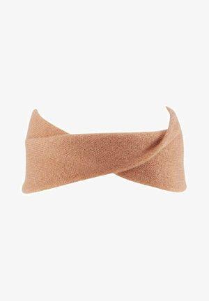 Ear warmers - clay rose melange