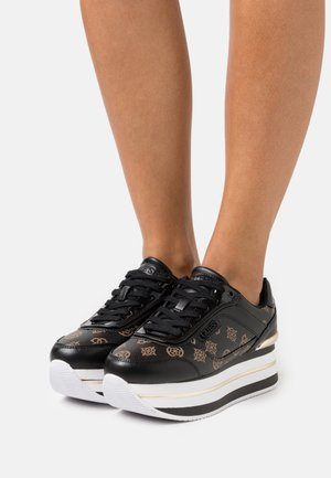 HANSIN - Sneakers laag - black brass