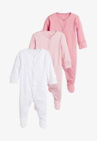 Next - 3 PACK - Pyžamo - pink - 0