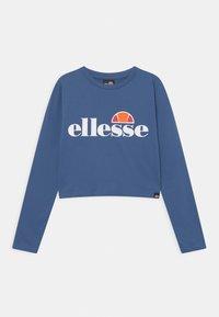 Ellesse - ARENO CROP - Langarmshirt - blue - 0
