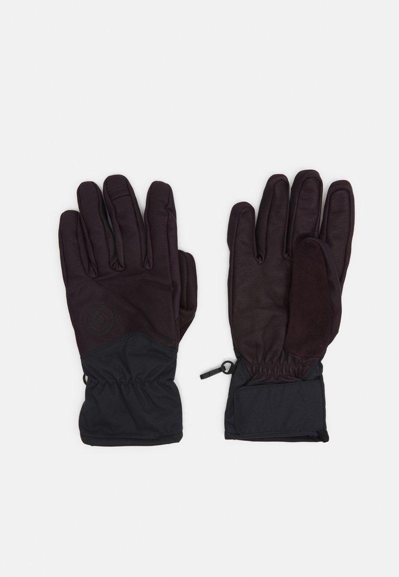 Black Diamond - TOUR GLOVES - Handschoenen - bordeaux