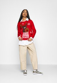 ONLY - ONLXMAS RUDOLF - Jumper - racing red - 1