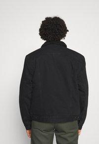 AllSaints - ALDER JACKET - Denim jacket - black - 2