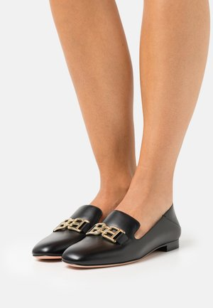 ELELY FLAT - Instappers - black